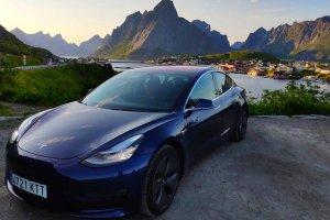 En Tesla hasta más allá del círculo polar ártico. Parte 1: Madrid – Oslo (04/05/2020)