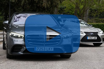 Lexus LS frente a Mercedes-Benz Clase S | Vídeo comparativa - Foto