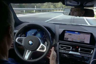 BMW Serie 8 | Prueba de ayudas a la conducción - Foto